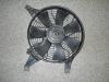 Мотор и кожух вентилятора кондиционера
